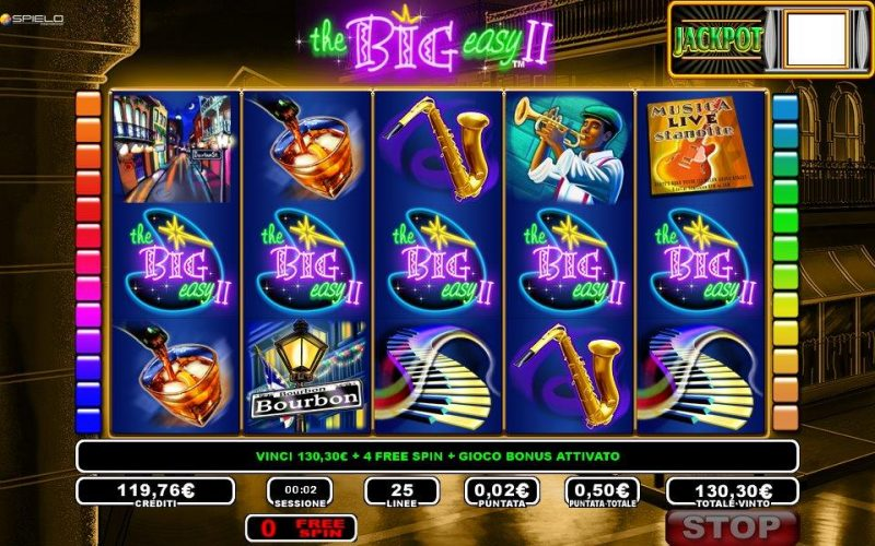 Slot machine big easy gratis