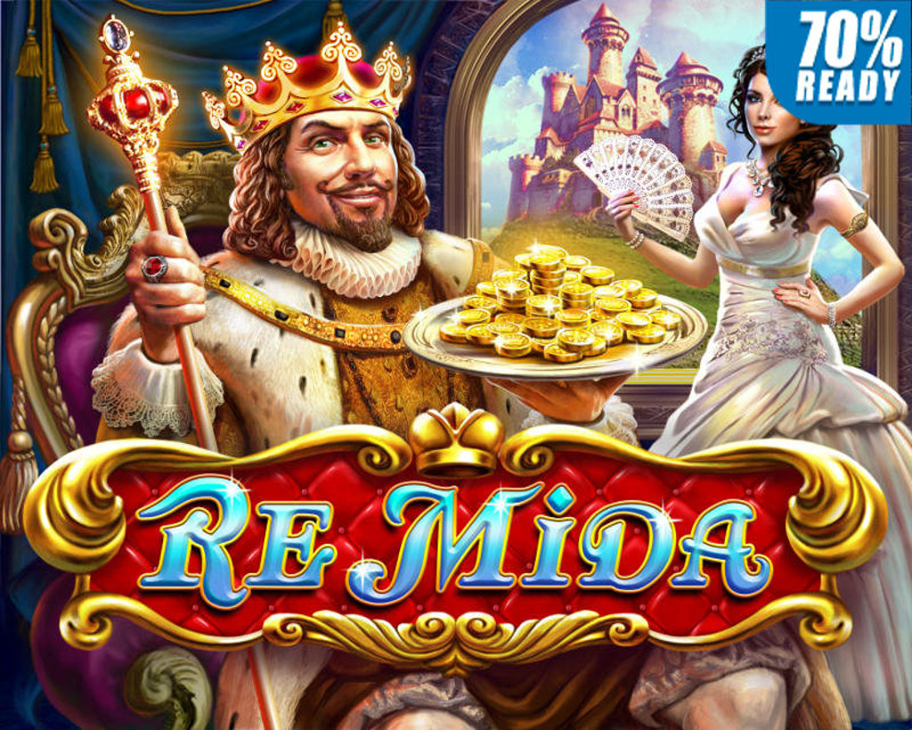 slot gratis re mida senza