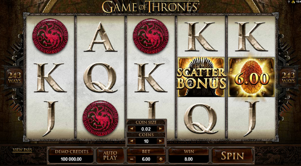 Play Game of Thrones Online Slot Machine Today Play Game ...