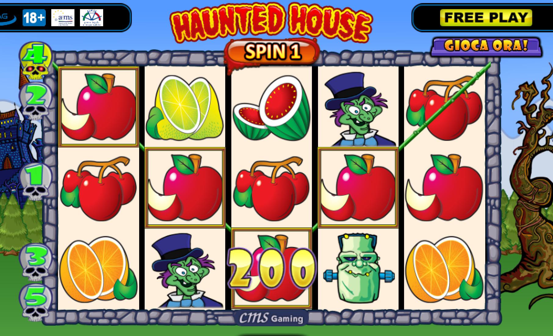 Haunted house slot machine free