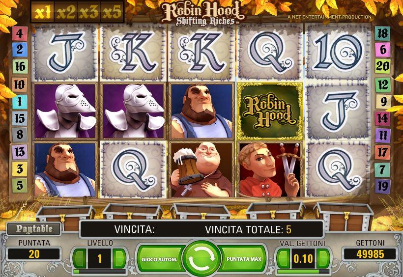 Slot Machine Gratis Robin Hood